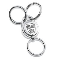 Harvard Sterling Silver Valet Key Ring