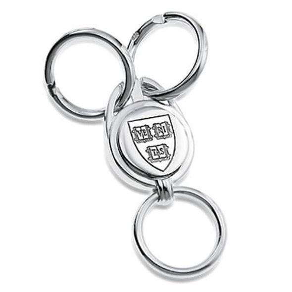 Harvard Sterling Silver Valet Key Ring