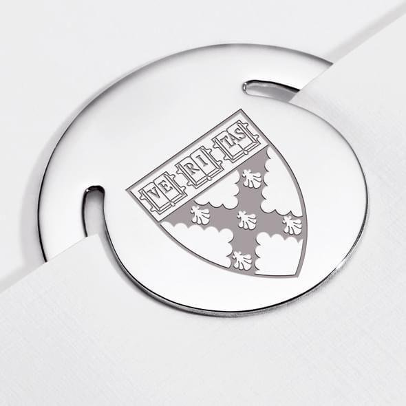 Harvard Business School Sterling Silver Bookmark - Image 2