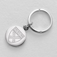 Harvard Business School Sterling Silver Insignia Key Ring