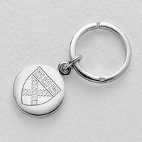 Harvard Business School Sterling Silver Insignia Key Ring