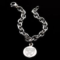 Harvard Business School Sterling Silver Charm Bracelet