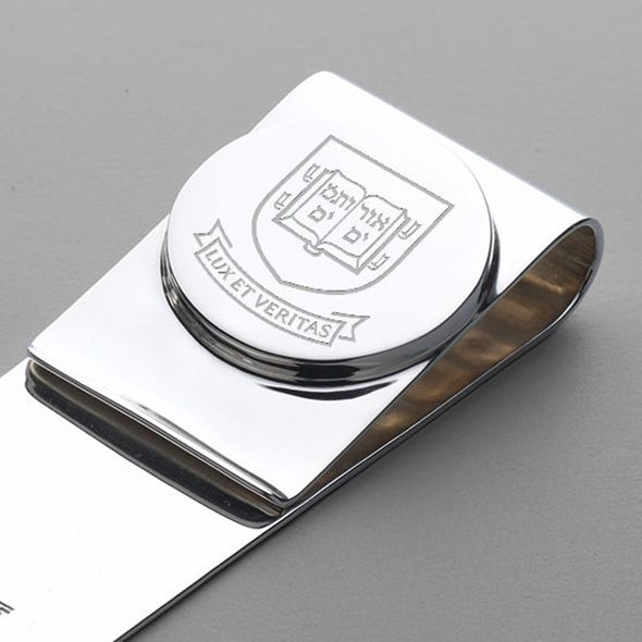 Yale Sterling Silver Money Clip - Image 2
