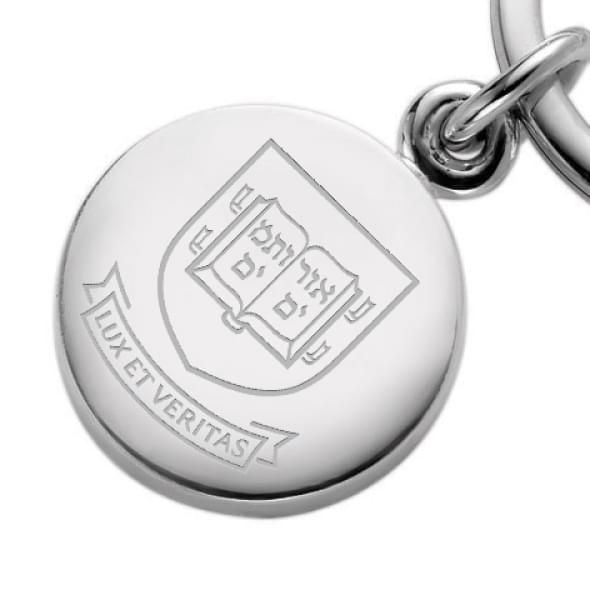 Yale Sterling Silver Insignia Key Ring - Image 2