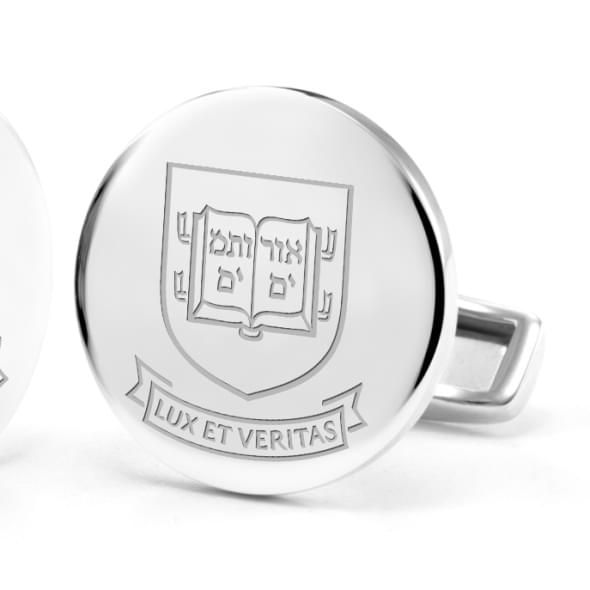 Yale University Cufflinks in Sterling Silver - Image 2