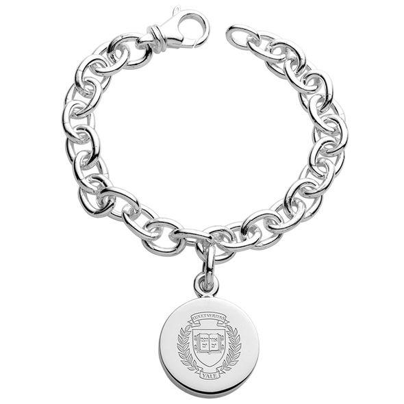 Yale Sterling Silver Charm Bracelet - Image 1