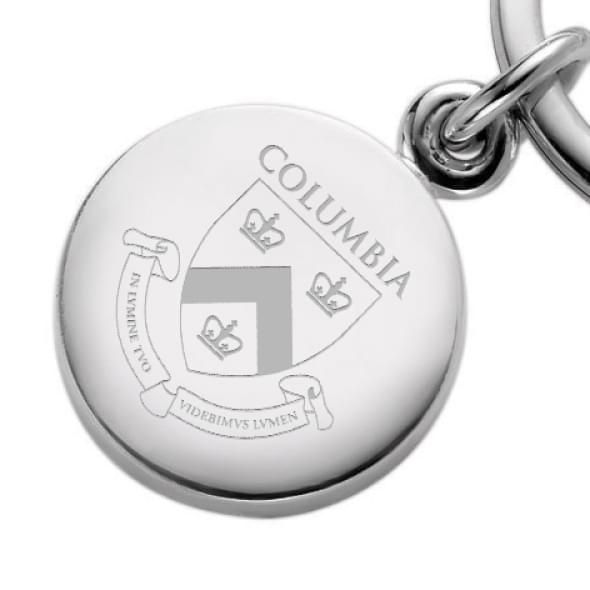 Columbia Sterling Silver Insignia Key Ring - Image 2
