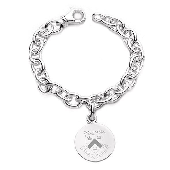 Columbia Sterling Silver Charm Bracelet