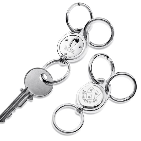 Columbia Sterling Valet Key Ring - Image 2
