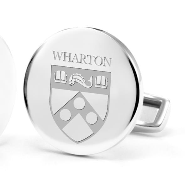 Wharton Cufflinks in Sterling Silver - Image 2