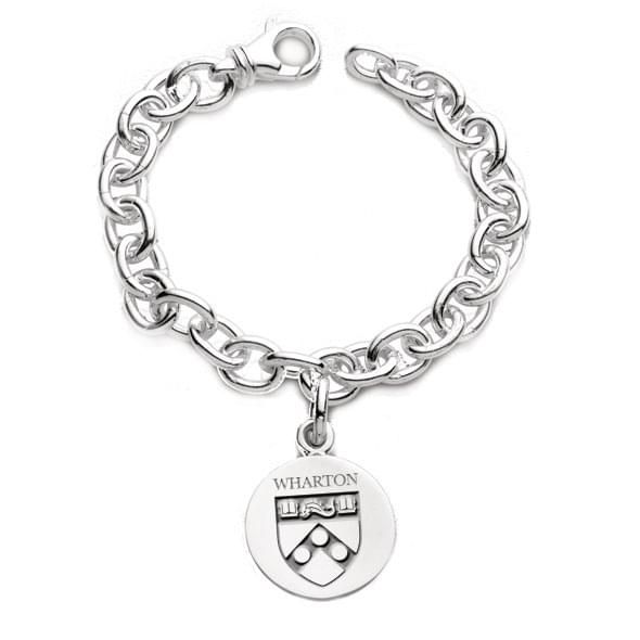 Wharton Sterling Silver Charm Bracelet