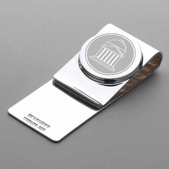 SMU Sterling Silver Money Clip