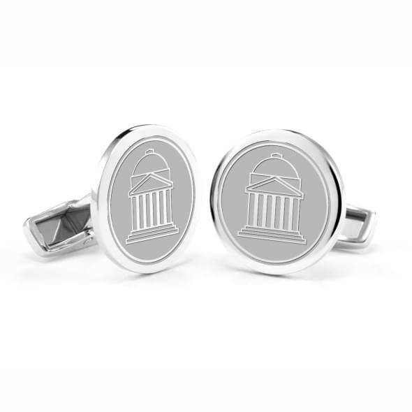 Southern Methodist University Cufflinks in Sterling Silver