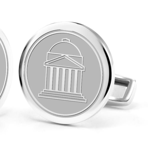 Southern Methodist University Cufflinks in Sterling Silver - Image 2