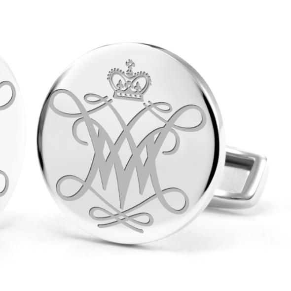 College of William & Mary Cufflinks in Sterling Silver - Image 2
