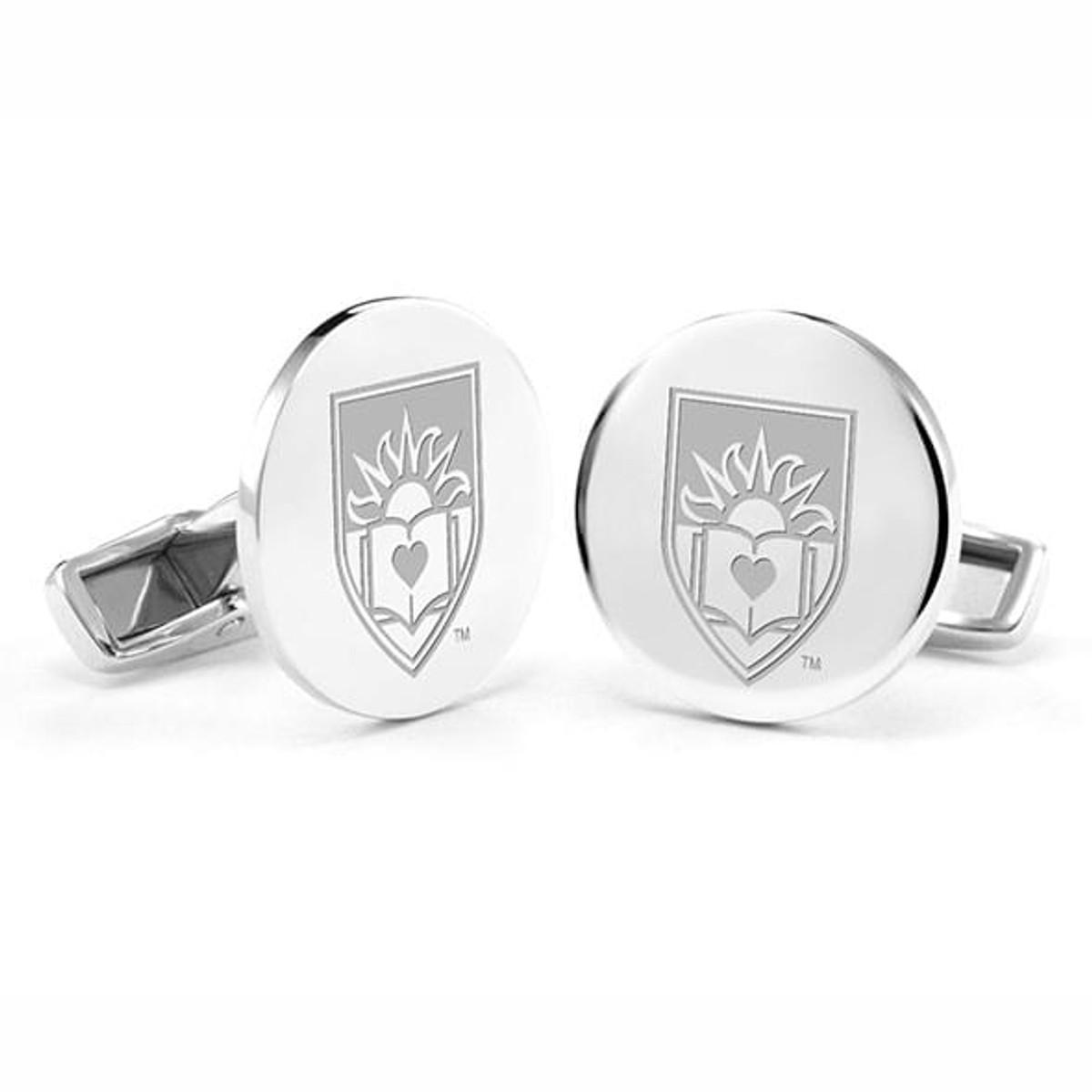 Jewel Tie 925 Sterling Silver Penn State University Cuff Link