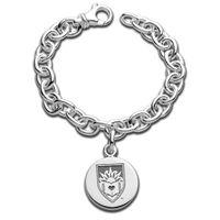Lehigh Sterling Silver Charm Bracelet