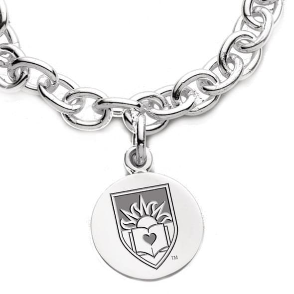 Lehigh Sterling Silver Charm Bracelet - Image 2