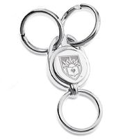 Lehigh Sterling Silver Valet Key Ring