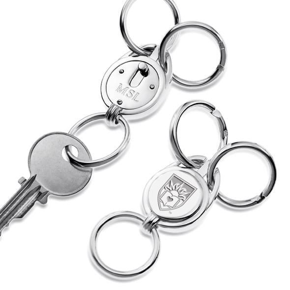 Lehigh Sterling Silver Valet Key Ring - Image 2