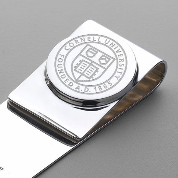 Cornell Sterling Silver Money Clip - Image 2