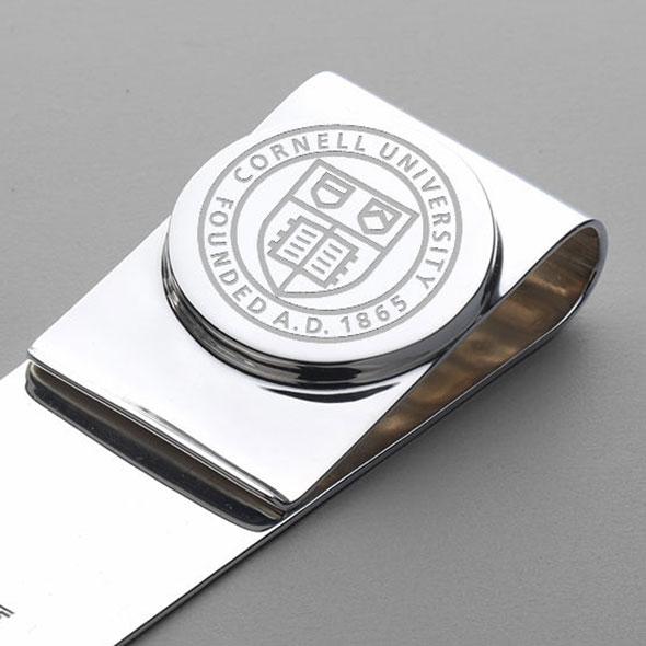 Cornell Sterling Silver Money Clip - Image 2