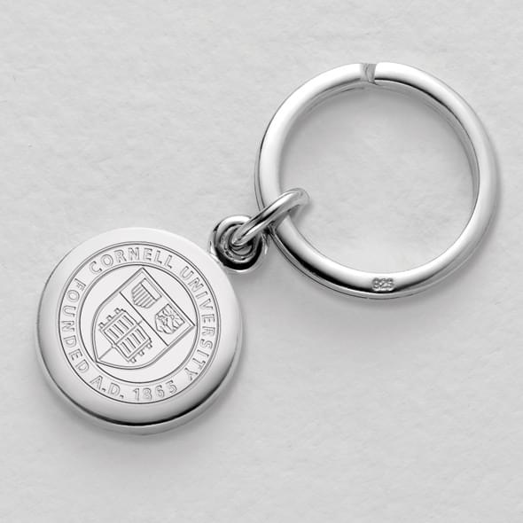 Cornell Sterling Silver Insignia Key Ring - Image 2