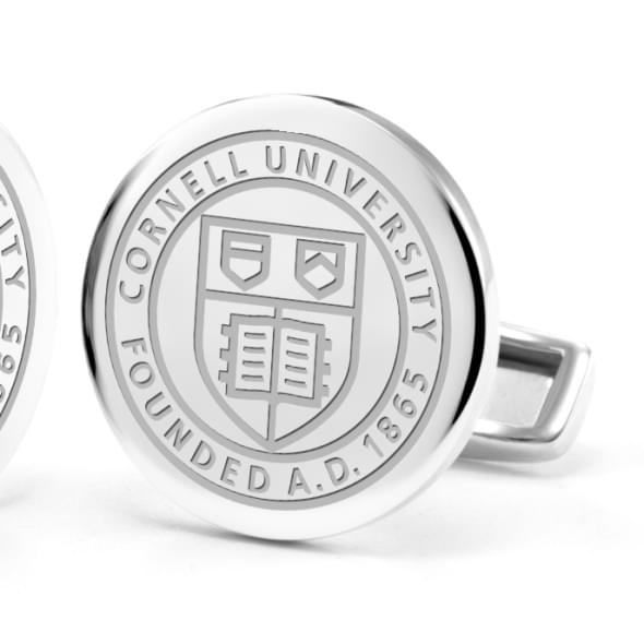 Cornell University Cufflinks in Sterling Silver - Image 2