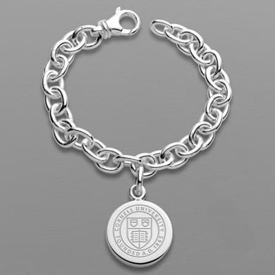 Cornell Sterling Silver Charm Bracelet
