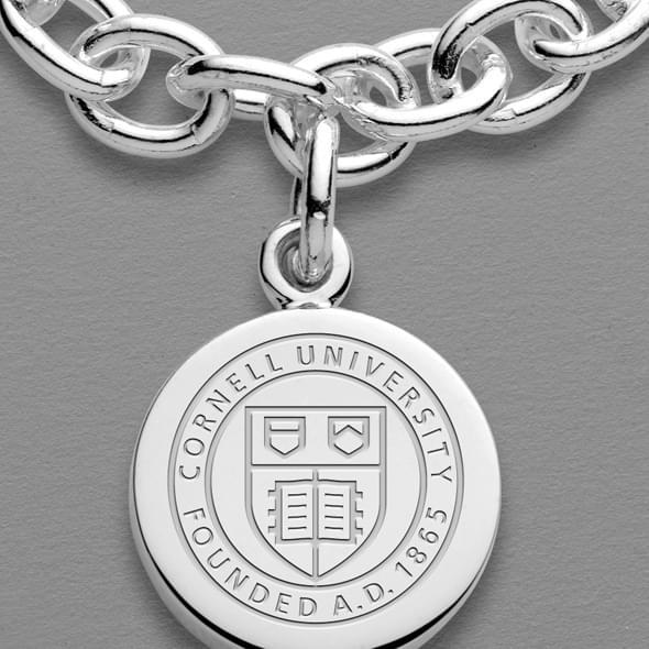 Cornell Sterling Silver Charm Bracelet - Image 2