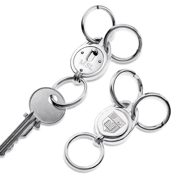 Cornell Sterling Silver Valet Key Ring - Image 2