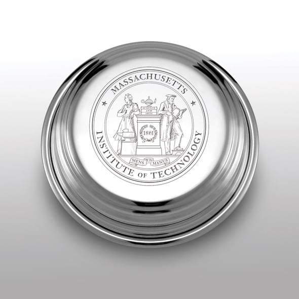 MIT Pewter Paperweight - Image 1