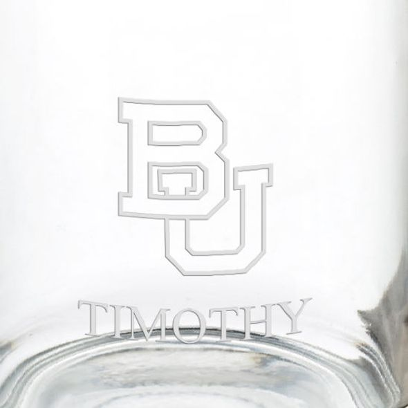 Boston University 13 oz Glass Coffee Mug - Image 3
