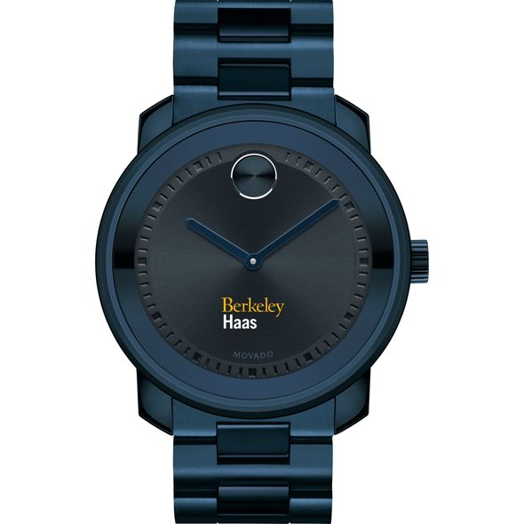 Haas School of Business Men's Movado BOLD Blue Ion with Bracelet - Image 2
