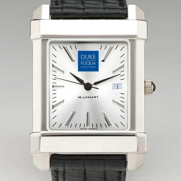 Duke Fuqua Men's Collegiate Watch with Leather Strap - Image 1