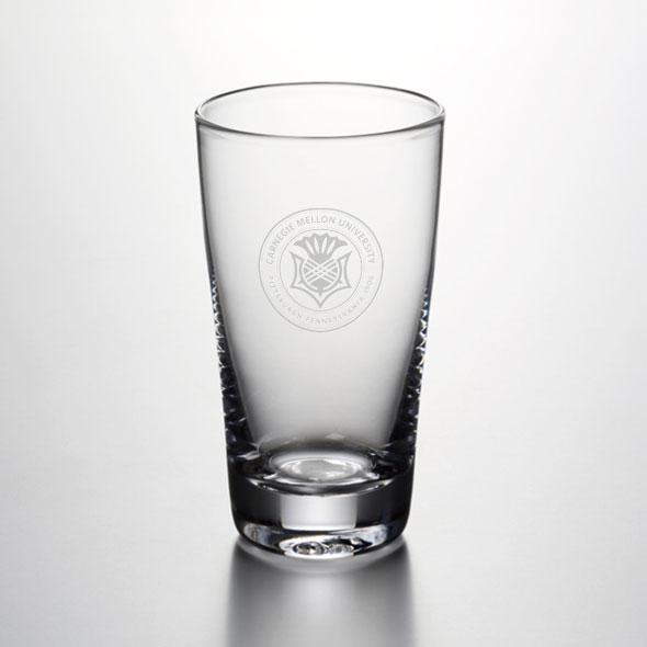 Carnegie Mellon University Ascutney Pint Glass by Simon Pearce