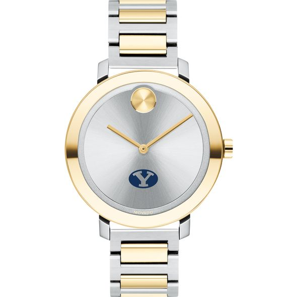 Brigham Young University Women's Movado Two-Tone Bold 34 - Image 2