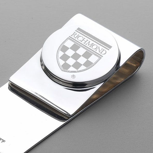 University of Richmond Sterling Silver Money Clip - Image 2