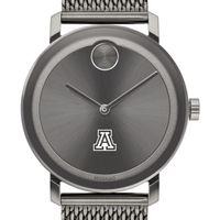 University of Arizona Men's Movado BOLD Gunmetal Grey with Mesh Bracelet