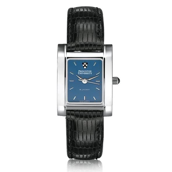 Princeton Women's Blue Quad Watch with Leather Strap - Image 2