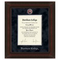 Davidson College Diploma Frame - Excelsior