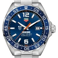 Chicago Booth Men's TAG Heuer Formula 1 with Blue Dial & Bezel