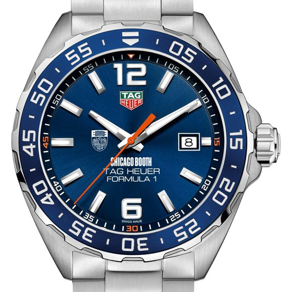 Chicago Booth Men's TAG Heuer Formula 1 with Blue Dial & Bezel - Image 1