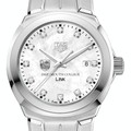 Dartmouth College TAG Heuer Diamond Dial LINK for Women - Image 1
