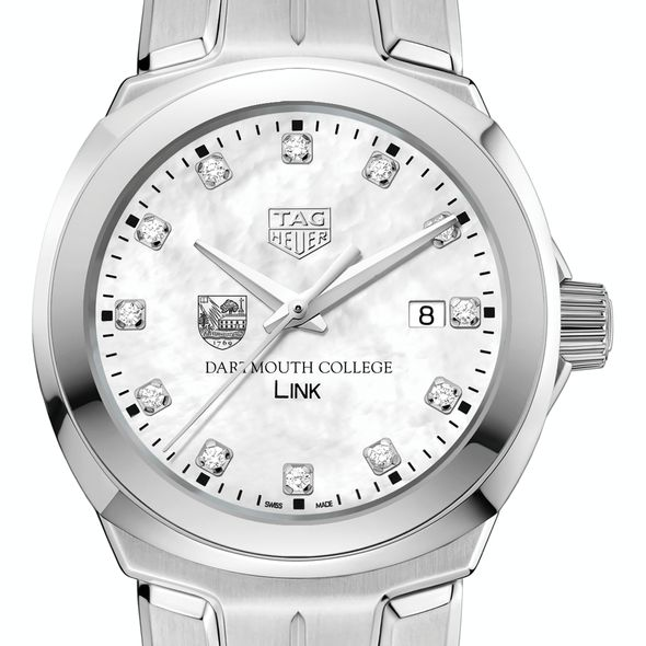 Dartmouth College TAG Heuer Diamond Dial LINK for Women