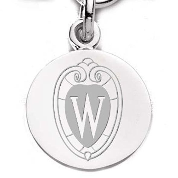 Wisconsin Sterling Silver Charm - Image 2