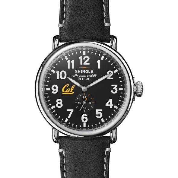 Berkeley Shinola Watch, The Runwell 47mm Black Dial - Image 1