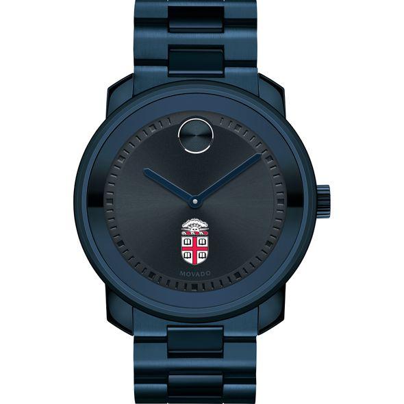 Brown University Men's Movado BOLD Blue Ion with Bracelet - Image 2