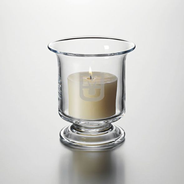 University of Missouri Hurricane Candleholder by Simon Pearce