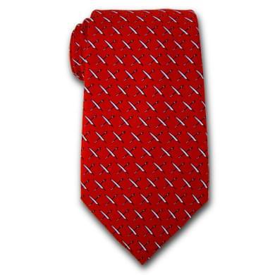 USNI Vineyard Vines Tie in Red
